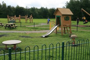 Re-developed Wickersley Park - now 'Open for Play'
