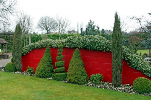 The 'Red Wall' at Winthrop